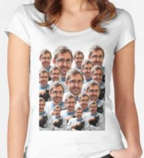 Louis Theroux - Kittens Women's Fitted Scoop T-Shirt