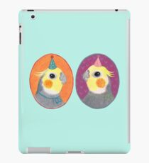 Cockatiel Party iPad Case/Skin