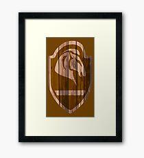Whiterun Hold Shield Framed Print