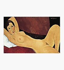 Amedeo Modigliani - Reclining Nude1 Photographic Print