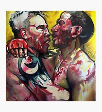 EMBRACE - MMA UFC FIGHTERS PAINTING Photographic Print