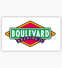 Boulevard Logo Sticker