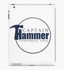 Captain Hammer iPad Case/Skin