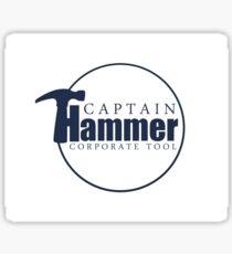 Captain Hammer Sticker