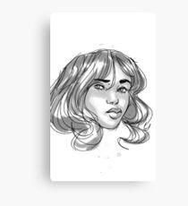 Ponder - Shaded Canvas Print