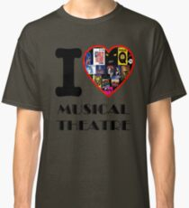 I Heart Stage Musicals Classic T-Shirt