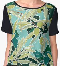Olives Women's Chiffon Top