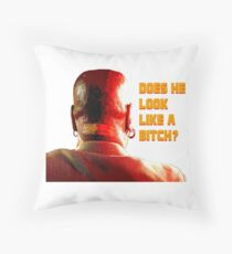 Marsellus Wallace Throw Pillow