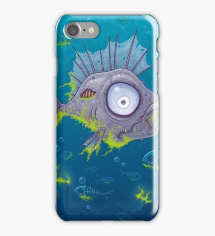 Zombie Fish iPhone Case/Skin