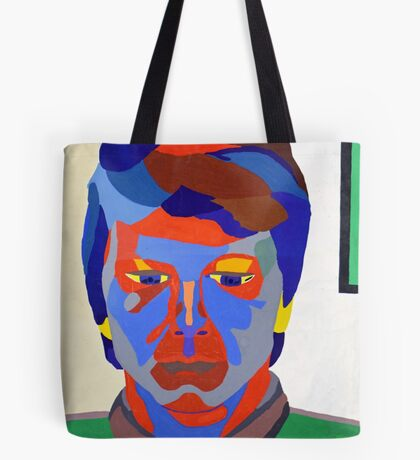 Nicky Holly of Wales, Portrait Painting by Neil Ap Jones.  Tote Bag