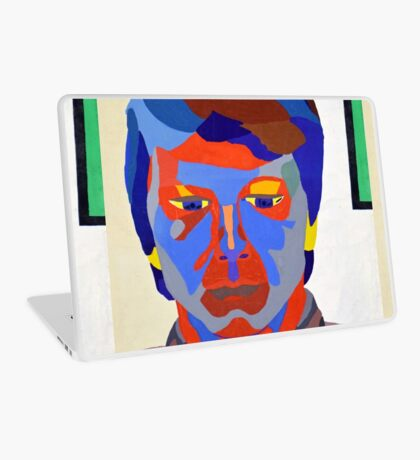 Nicky Holly of Wales, Portrait Painting by Neil Ap Jones.  Laptop Skin