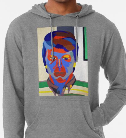 Nicky Holly of Wales, Portrait Painting by Neil Ap Jones.  Lightweight Hoodie