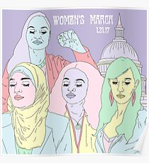 Women's March 2017 Poster