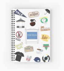 Stars Hollow Designs Spiral Notebook