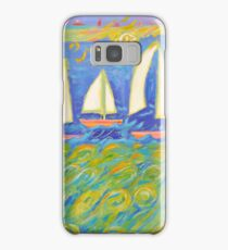 Bobbing in the Turquoise Sea  Samsung Galaxy Case/Skin