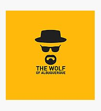 The Wolf Of ABQ Photographic Print
