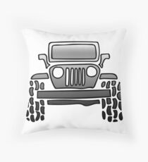Jeep Life Throw Pillow