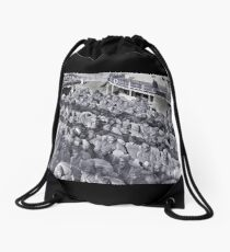 WWI Black Soldiers on Transport Ship Drawstring Bag