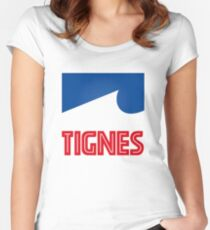 tignes Women's Fitted Scoop T-Shirt