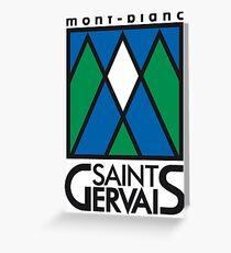 saint gervais Greeting Card
