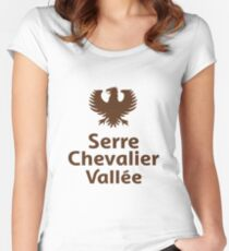 serre chevalier Women's Fitted Scoop T-Shirt