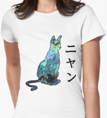 Gravity Daze Dusty Keyart Women's Fitted T-Shirt
