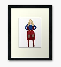 Superhero (Full Body) Framed Print