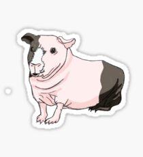 Skinny Guinea Pig Sticker