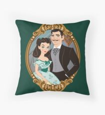 Rhett & Scarlett Throw Pillow