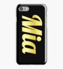 Golden Mia Iphone case iPhone Case/Skin