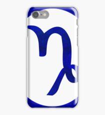 Capricorn and Third Eye Chakra Abstract Spiritual Artwork  iPhone Case/Skin