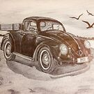 Volkswagen Beetle Pickup Truck 1951 I by Kashmere1646