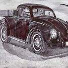 Volkswagen Beetle Pickup Truck 1951 II by Kashmere1646