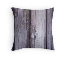 Slab Wall - Wallace Hut - Victoria Throw Pillow