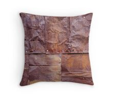 Chimmney Abstract - Wallace Hut - Victoria Throw Pillow