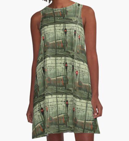 Move On A-Line Dress