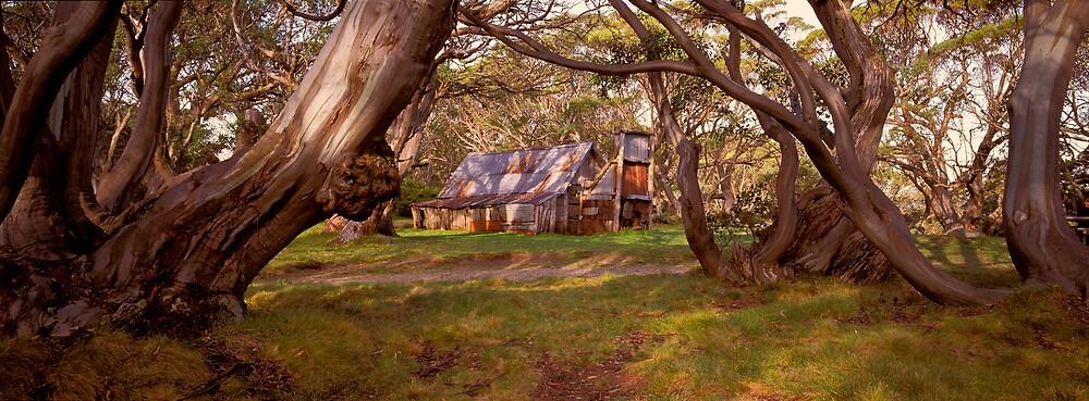 Wallace Hut - Falls Creek - Victoria by James Pierce