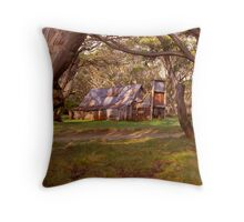 Wallace Hut - Falls Creek - Victoria Throw Pillow