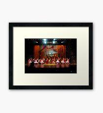 Aladdin Confetti  Framed Print