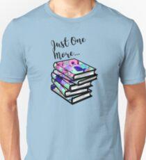 Camiseta ajustada Solo un libro más