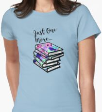 Just One More Book Womens Fitted T-Shirt