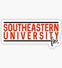 Southeastern University - Style 10 Sticker