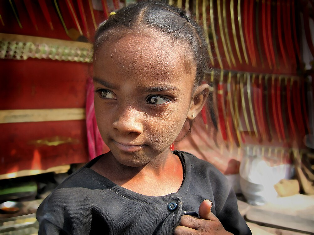 Pushkar girl 2 by Paul Vanzella