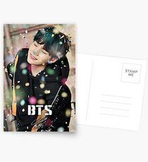 BTS Suga You Never Walk Alone Postcards
