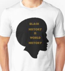 Afro History Black History Month Man T-Shirt