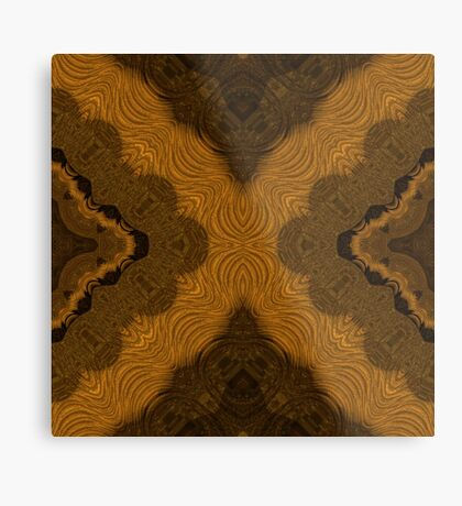 Fancy Brown by Julie Everhart Metal Print