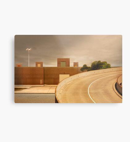 factory expressway Metal Print