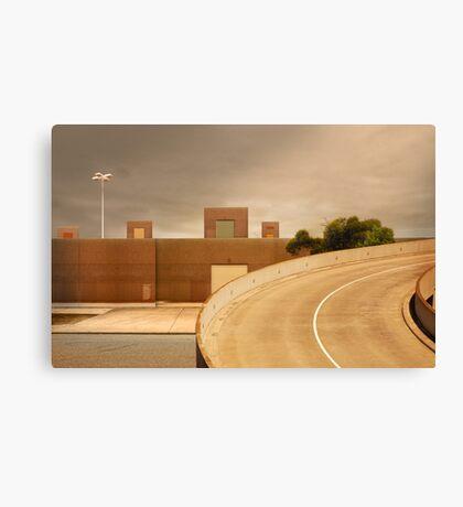 factory expressway Canvas Print