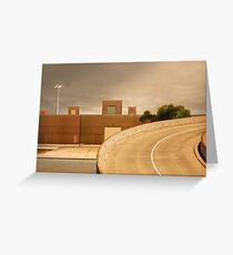 factory expressway Greeting Card