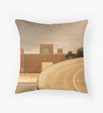 factory expressway Throw Pillow